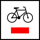Dodatkowe znaki szlaków rowerowych