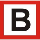 BT-3 Blokada zwrotnicy. Oznacza zakaz wjazdu kierującego tramwajem pod urządzenie sterujące zwrotnicą, aż poprzedni tramwaj nie opuści zwrotnicy