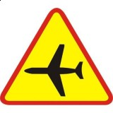 A-26 Lotnisko. Ostrzega o możliwości nagłego pojawienia się nisko przelatującego samolotu lub śmigłowca